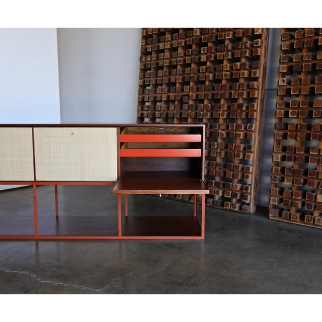 Mid 20th Century Milo Baughman for Murray Furniture Cabinet C. 1954 For Sale - Image 5 of 13