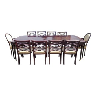 Councill Extendable Dining Set - 11 Pieces For Sale