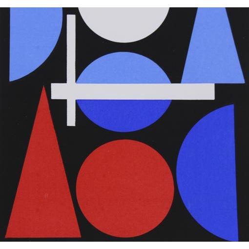 Mid-Century Modern Auguste Herbin Modern Serigraph For Sale - Image 3 of 3