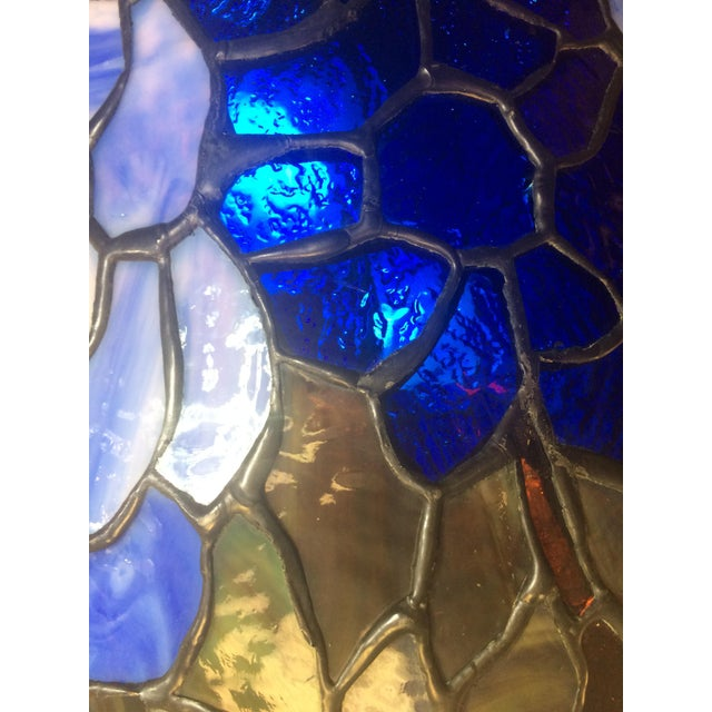 Somers Stained Glass Lamp For Sale In Raleigh - Image 6 of 10