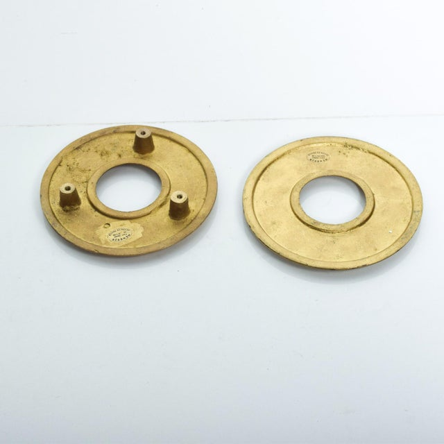 Pepe Mendoza Mid Century Modern Door Ring Pulls by Pepe Mendoza Mexican Modernist For Sale - Image 4 of 9