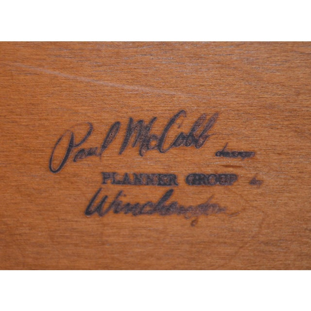 Paul McCobb Mid-Century Modern Twin Headboards - a Pair For Sale - Image 10 of 11