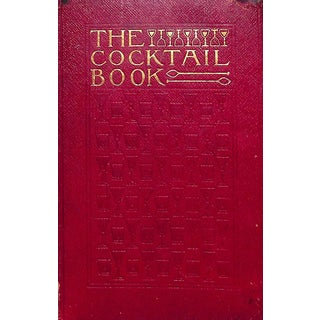 """""""The Cocktail Book"""" Original Book For Sale"""