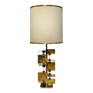 Rare System Series Table Lamp by Sciolari For Sale