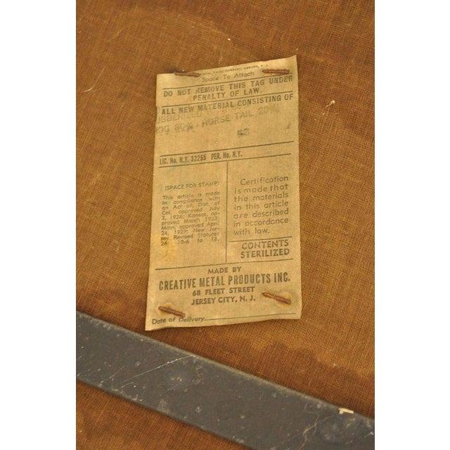 Vintage Mid Century Modern Wrought Iron Arthur Umanoff Paul McCobb Arm Chair For Sale - Image 9 of 11