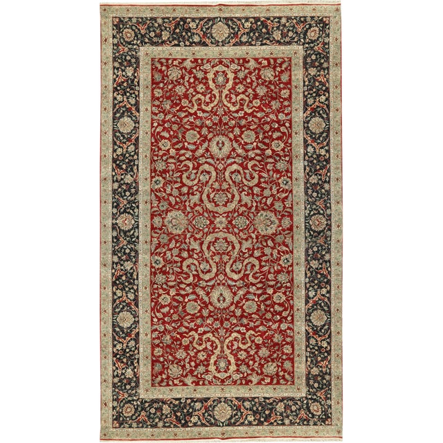 Traditional Hand Woven Rug - 9′11″ × 17′11″ For Sale