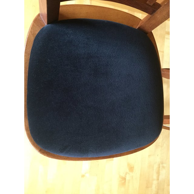 Contemporary Contemporary Custom Bar Stools With Cushioned Seats - a Pair For Sale - Image 3 of 6