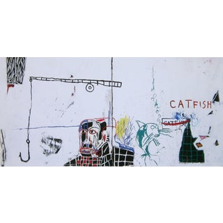 Catfish, Giclee Print, Jean-Michel Basquiat For Sale