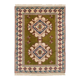 """Shiravan Vintage Turkish Rug, 6'0"""" x 8'5"""" feet"""