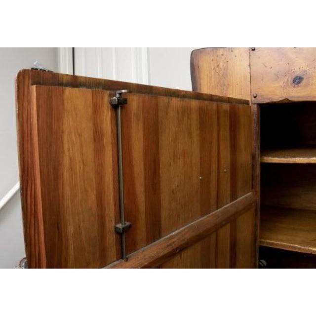Monumental Ralph Lauren for Henredon Pine Cabinet For Sale In Dallas - Image 6 of 11