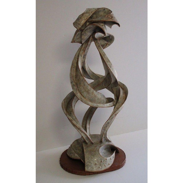 Expressionist Abstract Metal Sculpture For Sale - Image 13 of 13