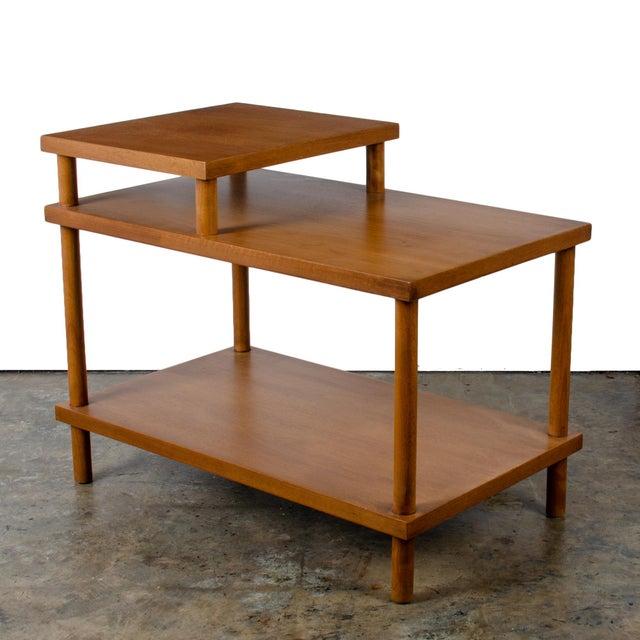 t.h. Robsjohn-Gibbings for Widdicomb Step Side Table For Sale - Image 11 of 11
