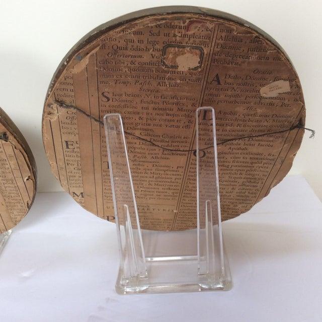 Antique Wax Cherub Reliefs - A Pair - Image 8 of 9