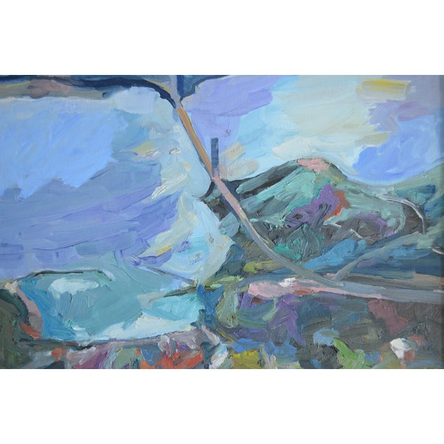 Abstract Landscape Painting California - The Bay - Image 2 of 2