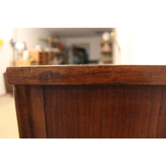 Kent Coffey Perspecta Walnut/Rosewood Credenza For Sale - Image 9 of 12