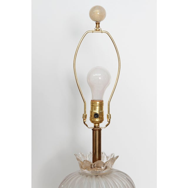 MURANO PEAR FORM TABLE LAMP - Image 4 of 10