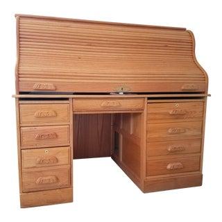 Surewood Haugen Roll Top Desk