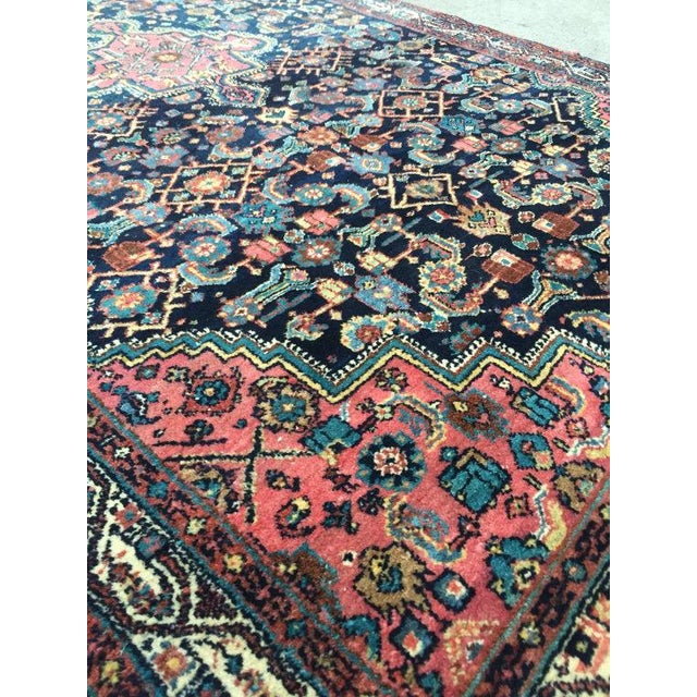 """Antique Persian Rug - 4'1"""" x 6'10"""" - Image 4 of 8"""