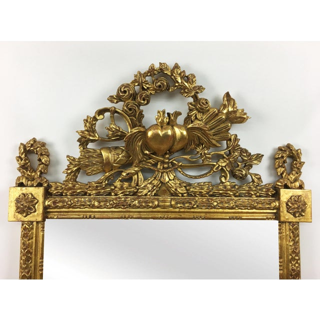 Baroque 20th Century Italian Botanical Gilt Wood Frame For Sale - Image 3 of 5