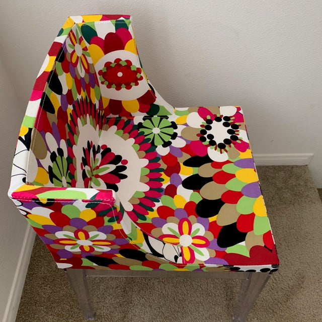 Kartell Phillipe Starck Missoni Mademoiselle Replica Chair For Sale In San Diego - Image 6 of 9