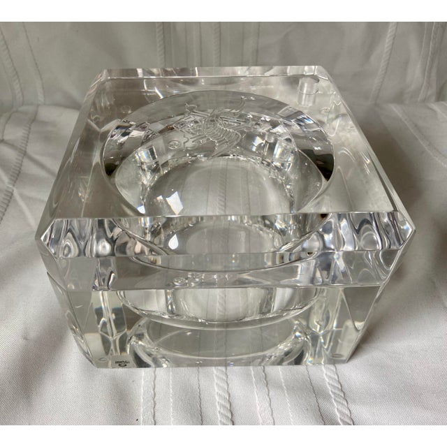 1960s Vintage Peter Alan Designs Anheuser Busch Lucite Candy Dish For Sale - Image 11 of 11