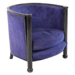 Art Deco Cerused Oak Chair