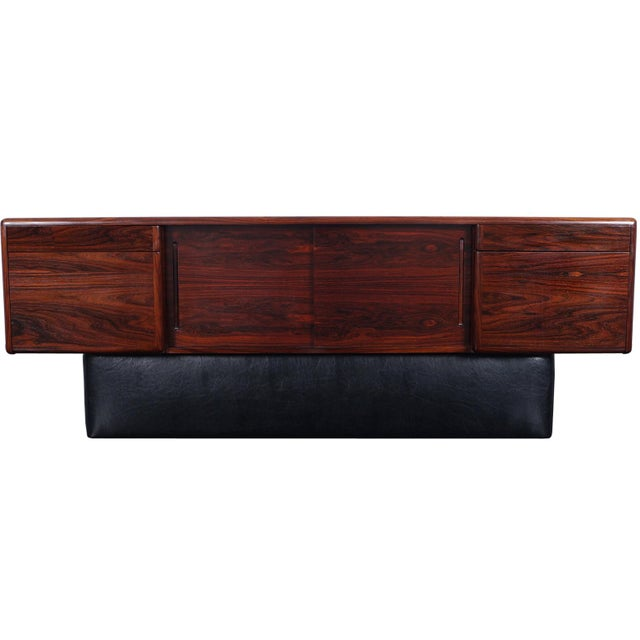 Danish Modern Rosewood Credenza For Sale - Image 9 of 9