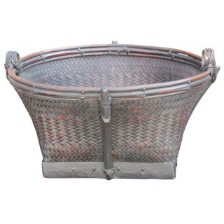 Vietnamese Bamboo Basket