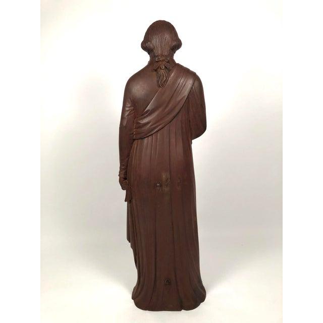 Large 19th Century George Washington Cast Iron Stove Figure For Sale - Image 9 of 13