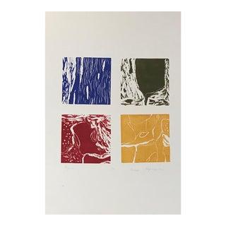 """Contemporary Abstract Print """"Origins"""" by Natasha Karpinskaia"""