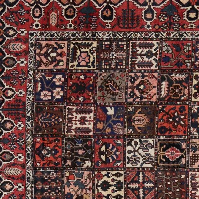 Antique Persian Bakhtiari Rug with Four Season Garden Design For Sale - Image 5 of 8