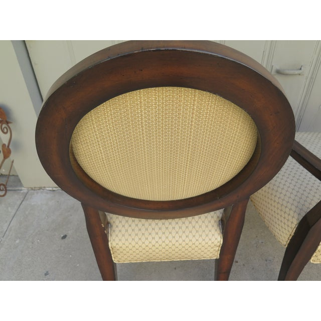 1980s Vintage 1980s A. Rudin Regency Style Side Chairs- A Pair For Sale - Image 5 of 7