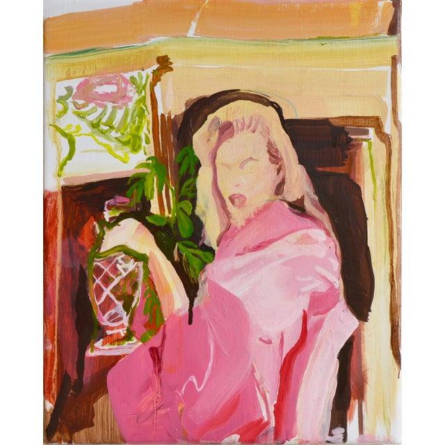 Nightcap, Painting, Lucia Jones For Sale - Image 4 of 4