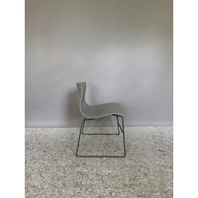 """1980s Massimo Vignelli for Knoll """"Handkerchief"""" Chairs - Set of 4 For Sale - Image 5 of 12"""