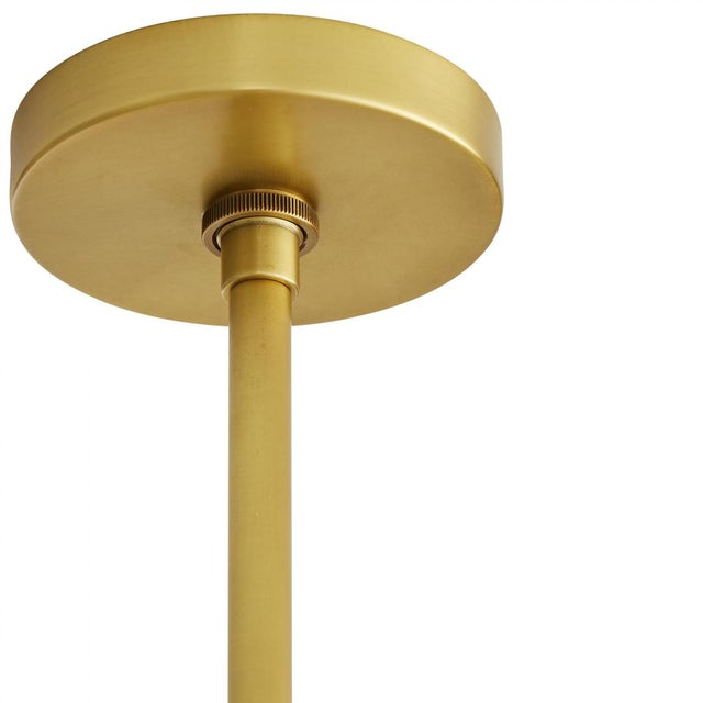 Gold Celerie Kemble for Arteriors Cleo Chandelier For Sale - Image 8 of 12