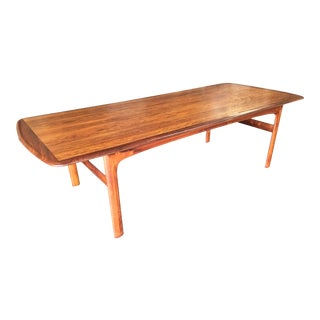 Swedish Mid Century Rosewood Coffee Table by Folke Ohlsson For Sale