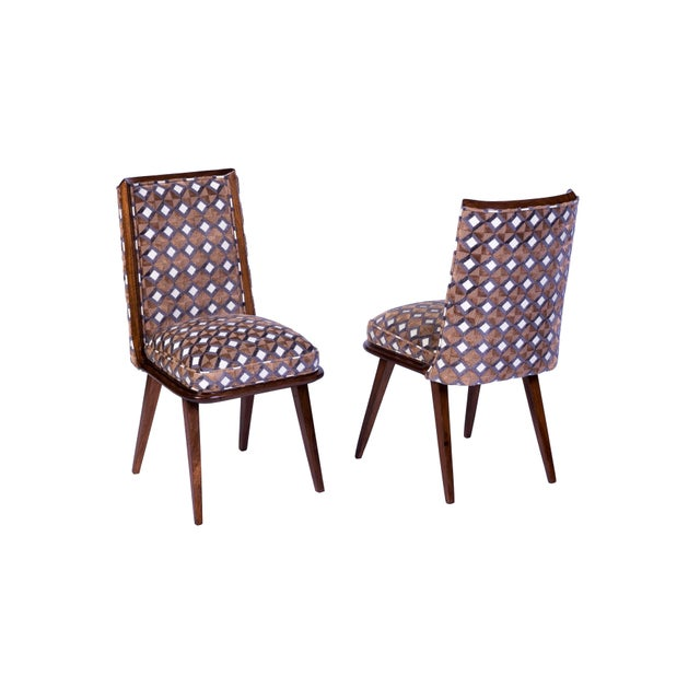 Mid-Century Modern Set of Six Mid-Century Modernist Dining Chairs For Sale - Image 3 of 11