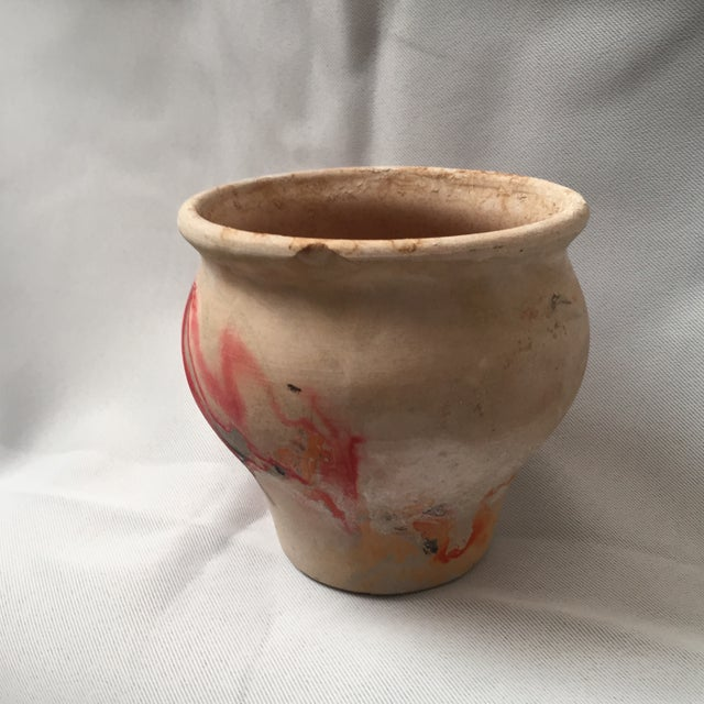 Nemadji Red Pottery Vase - Image 4 of 9
