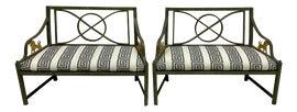 Image of White Sofas
