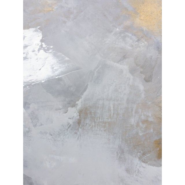 Acrylic Teodora Guererra, Harmony in White, 2017 For Sale - Image 7 of 10