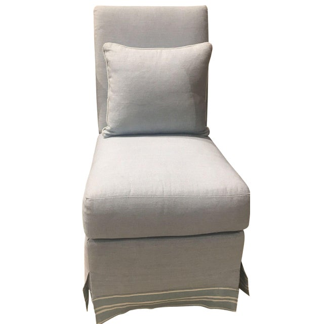 Henredon Wilshire Slipper Chair - Image 1 of 6