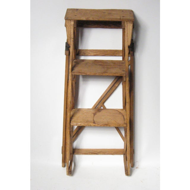 19th C. Hatherley Step Ladder For Sale - Image 4 of 8
