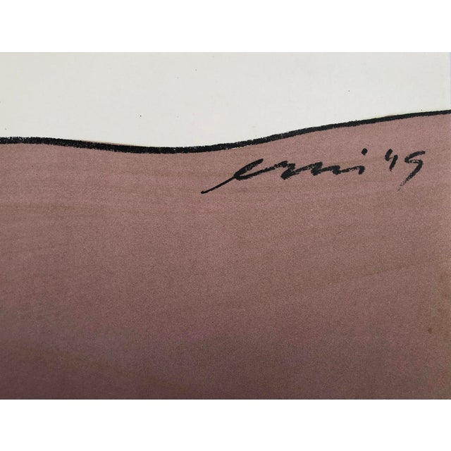 Hans Erni Art Exhibition Poster, Swiss, Circa 1949 For Sale - Image 9 of 12
