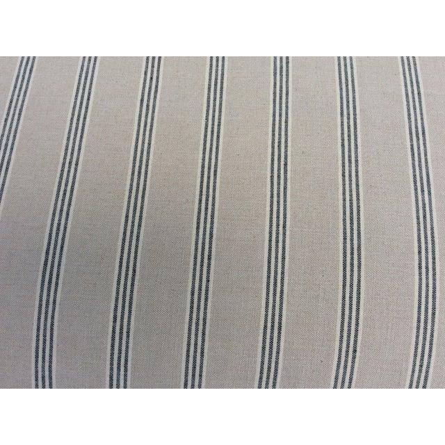 Textile White English Club Sofa For Sale - Image 7 of 9