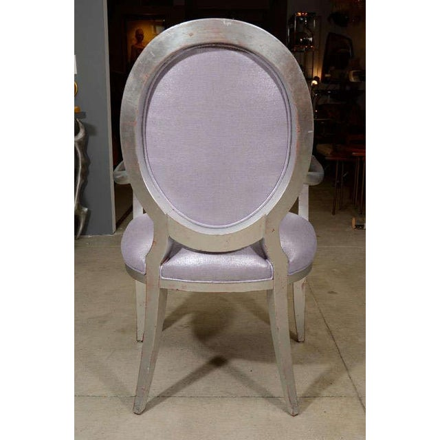 Louis XVI Style Armchairs - A Pair For Sale In New York - Image 6 of 9