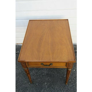 20th Century Traditional Henredon Furniture Mahogany Nightstand Side End Lamp Table Preview