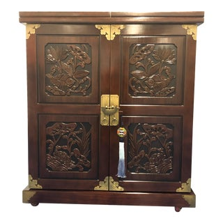 Korean Wine Bar Cabinet For Sale
