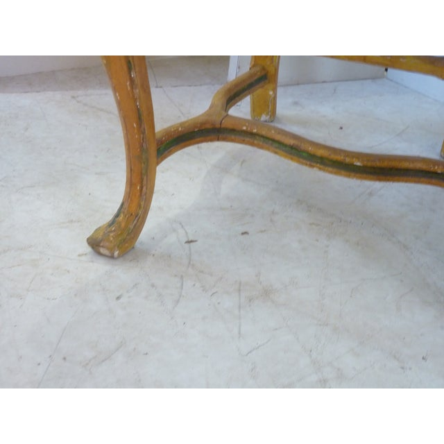 Late 19th Century Antique French Painted Side Chair For Sale In Boston - Image 6 of 8