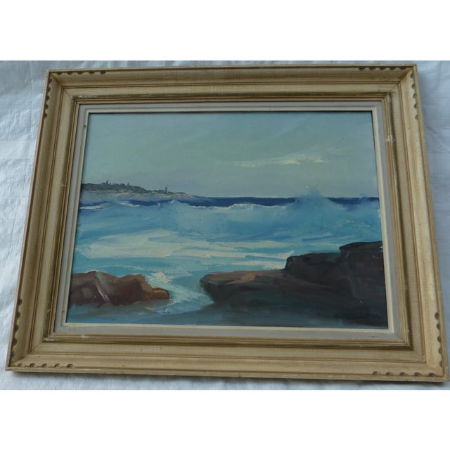 M. F. Musgrave Rockport Painting - Image 2 of 8