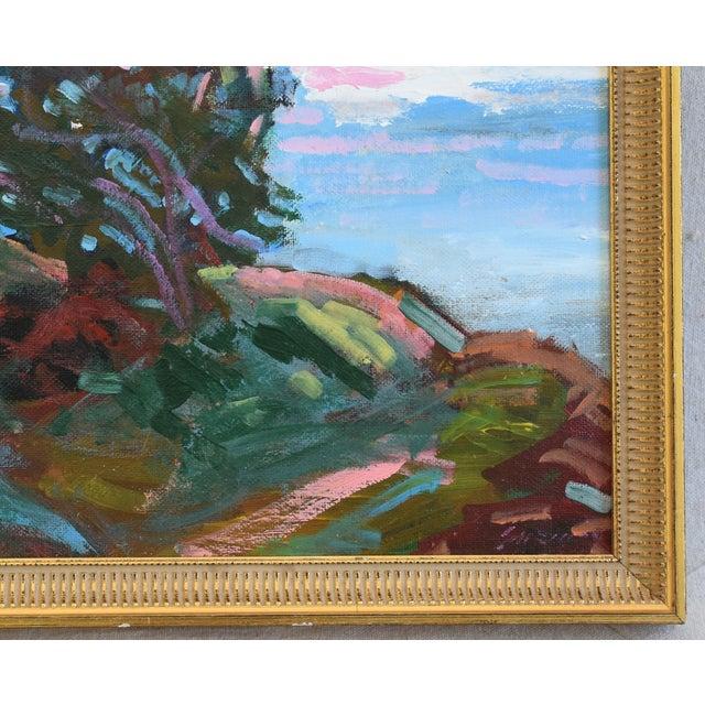 Juan Guzman Santa Barbara Coast Seascape Landscape Oil Painting For Sale - Image 4 of 9